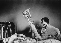 Evgeny Stetsko - 1988 Photo Sports, Honorable Mention prize stories The spectacular recovery of the Soviet Union's gymnastics World Champion, Dimitry Belozerchev, after a serious car accident. While his leg was still in a plaster cast, he started training again and two years later regained his title.