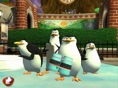 The Madagascar Penguins Have a Mission for You!