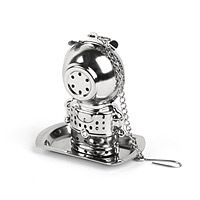 Oh my gosh, it's a Deep Tea Diver!!! So cute. And they name the little dude (who is made in China...er) CHAI. CHAI DIVE. :) TEA INFUSER - DIVER|UncommonGoods