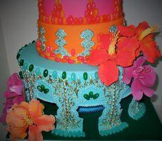 Wedding cake for Moroccan Wedding https://www.facebook.com/Albena.cakes www.albenacakes.com