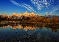 Teton Light by Dave McEllistrum, via 500px