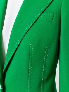 Dolce & Gabbana Blazer com detalhes de costura Suit Fashion, Hijab Fashion, Formal Wear Women, Jacket Pattern, Moda Online, Suits For Women, Couture Fashion, Work Wear, Casual Outfits