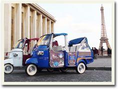 """Hanif tuktuk"", Paris"