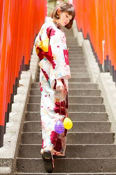 ✮ ~ 'Wafuku' Japanese traditional clothing ~ yukata  ~ ☽