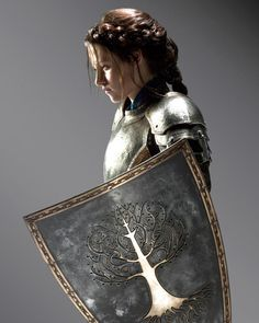 See photos from 'Snow White and the Huntsman,' which stars Kristen Stewart, Charlize Theron and Chris Hemsworth. The dark fairy tale adaptation is slated for release on June Warrior Girl, Fantasy Warrior, Warrior Princess, Warrior Women, Fantasy Queen, Warrior Outfit, Female Armor, Female Knight, Lady Knight
