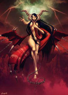 Lilith - Bestiary by GENZOMAN on DeviantArt