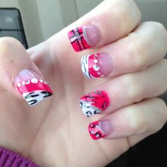 Cutest nails ever!!!!