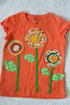 Kids flower tshirt