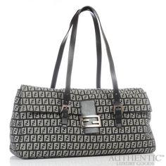 820ea7d24bb1 Fendi Borsa Due Manici Zucchino Shopper Shoulder Bag | $450 | Authentic  Luxury Goods