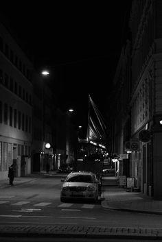 Oslo, Grønland by night