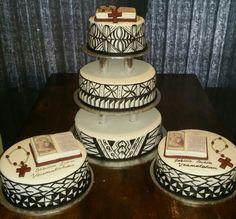 Samoan Designs, Polynesian Designs, Island Cake, Island Food, Traditional Wedding Cakes, Traditional Cakes, Art Cakes, Cake Art, Samoan Wedding