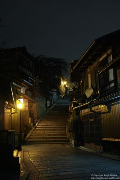 Japan Nightscape - Tranquility, Kyoto.