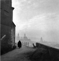 Ernst Haas. Salzburg, Austria. 1945.
