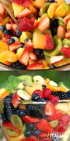 Mothers Day Brunch Discover Orange Honey Rainbow Fruit Salad Orange honey rainbow fruit salad recipe is like a party for your senses. The orange honey dressing includes a secret ingredient that brings this salad to life. Rainbow Fruit Salad Recipe, Fresh Fruit Salad, Fruit Salad Recipes, Rainbow Salad, Berry Fruit Salads, Summer Fruit Salads, Creamy Fruit Salads, Party Salads, Berry Salad