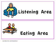 Labels and Locators Summer School, Pre School, Visual Schedule Printable, Mayer Johnson, Printable Pictures, Special Needs, Aba, Social Skills
