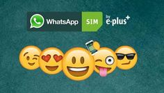 WhatsApp – Kostenlose Prepaid SIM Karte von E-Plus   Prepaiddealz.de