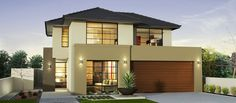 bad, Simple Two Storey House Project That Stands Out In The. Simple Two Storey House Project That Stands Out In The. Minecraft Modern House Designs, Modern House Floor Plans, Modern Style Homes, Storey Homes, New Home Builders, Facade House, Deco Design, Home Design Plans, Modern Architecture