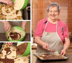 Obrácený jablečný koláč od babičky - Proženy Cereal, Mexican, Treats, Breakfast, Ethnic Recipes, Sweet, Cakes, Food, Sweet Like Candy