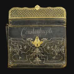 A large Ottoman Leather Attaché case, Turkey, Inscribed and Dated 'Constantinople 1723' | Lot | Sotheby's
