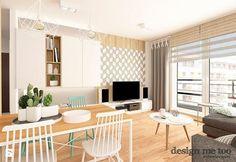 Jasne drewno na podłodze i ścianie sprawia, że wnętrze nabiera przytulnego i domowego charakteru :)   Po materiały potrzebne do realizacji takiej aranżacji zapraszamy do http://www.eurostandard.pl/ (Topole 20 k/Chojnic).  Foto: http://www.homebook.pl/inspiracje/salon/387670_-salon-styl-skandynawski