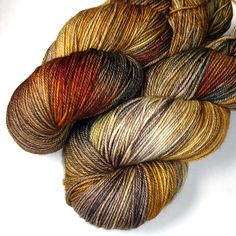 earth colours from JulieSpins - hand spun yarn