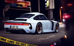 I cannot get over the sexiness of this Porsche