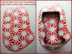 melted candy ornaments - Google Search