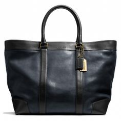 Coach :: BLEECKER WEEKEND TOTE IN HARNESS LEATHER