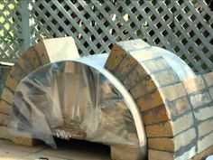 How to Build an Outdoor Wood Fired Pizza Oven by BrickWood Ovens - YouTube