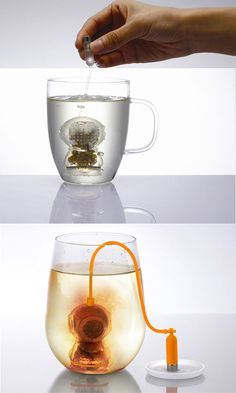 10 Creative and Unusual Tea Infusers - Deep Tea Diver Infuser