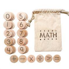 Kindergarten Math Activities, Activities For Kids, Educational Math Games, Learning Activities, Montessori Math, Homeschool Math, Math Manipulatives, Numeracy, Wood Games