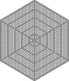 blank radially symmetrical graph paper More