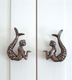 Dress up Drawers with these adorable mermaid pulls!