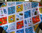 Dr. Seuss Diamond Baby Quilt, bought in crib size! can't wait to see it.