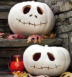Tim Burton style pumpkins