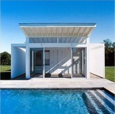 Images of pool house - Pictures of pool houses