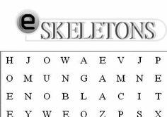 Bones - Word Search