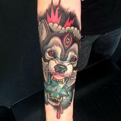 Tattoo done byLuca Degenerate. http://instagram.com/lukisha_1