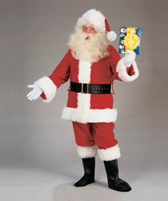 Take a look at this Red Value Santa Suit - Men by Forum Novelties on #zulily today!