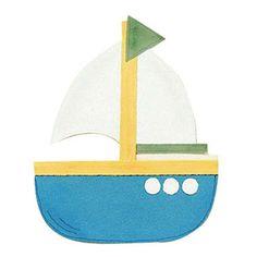 Sailboat Paper-Piecing Pattern