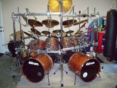 "Show Me Your ""Monster"" Kits! (let's say... 7 piece and up) - Page 2 - DRUMMERWORLD OFFICIAL DISCUSSION FORUM"