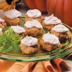 Pumpkin Drop Cookies Recipe | Taste of Home Recipes