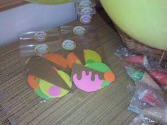 Souvenir: Imanes de goma Eva para jugar