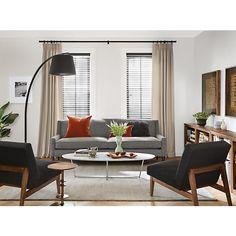 pair of club chairs - ward bennett | armlehnen, möbel und clubsessel - Moderne Wohnzimmermobel