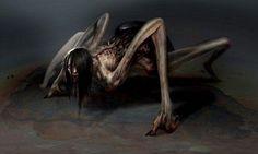 An Aswang (or Asuwang) is a mythical creature in Filipino folklore. The aswang… Dark Fantasy Art, Dark Art, Mythological Creatures, Fantasy Creatures, Mythical Creatures, Monster Art, Arte Horror, Horror Art, Horror Movies