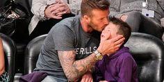 Así celebra David Beckham el cumpleaños de su pequeño Cruz