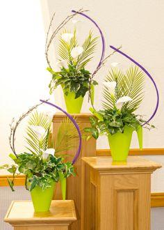 Easter Flower Arrangements 2013 | Burnside Presbyterian Church