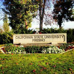 Welcome to California State University, Fresno! Go Bulldogs!