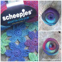 Crochet  https://www.facebook.com/AttysLoveForCrochet Yarn Projects, Crochet Projects, Crochet Tutorials, Crochet Ideas, Knitted Flowers, Crochet Things, Knit Crochet, Crochet Necklace, Cowl
