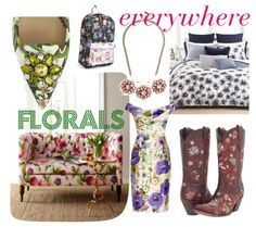 Florals everywhere | hollywood housewife